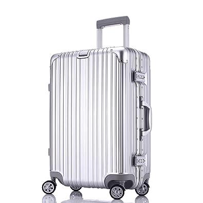 e6c1a99cc0 Amazon | Totell スーツケース 超軽量 キャリーケース TSAロック 鏡面仕上げ アルミフレーム 旅行 大容量 キャリーバッグ 機内持込  | Totell | スーツケース