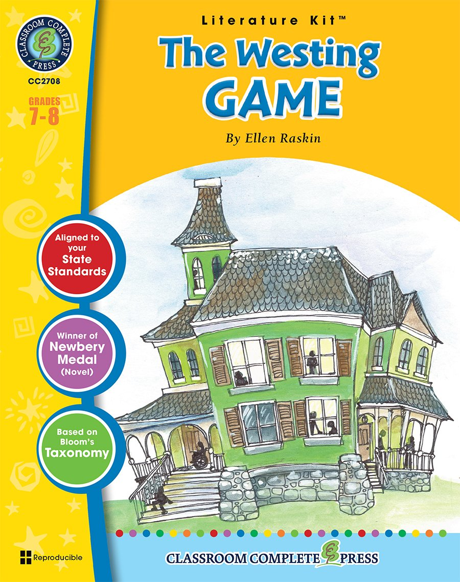 Download The Westing Game - Novel Study Guide Gr. 7-8 - Classroom Complete Press pdf
