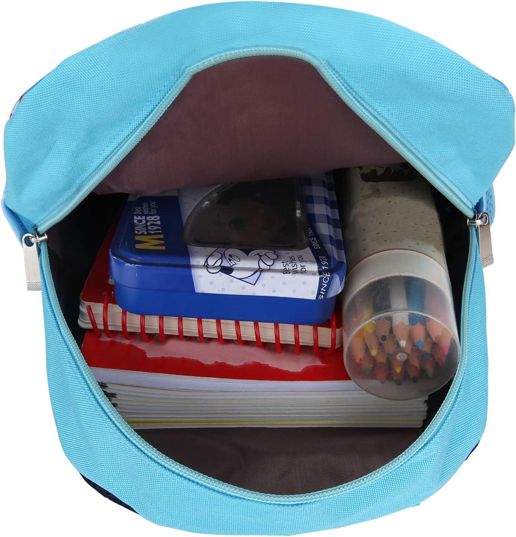 BABY DIARY Kids Toddler Backpack Boy Preschool with Strap Dinosaur Blue Kindergarten Leash Bookbag dark blue