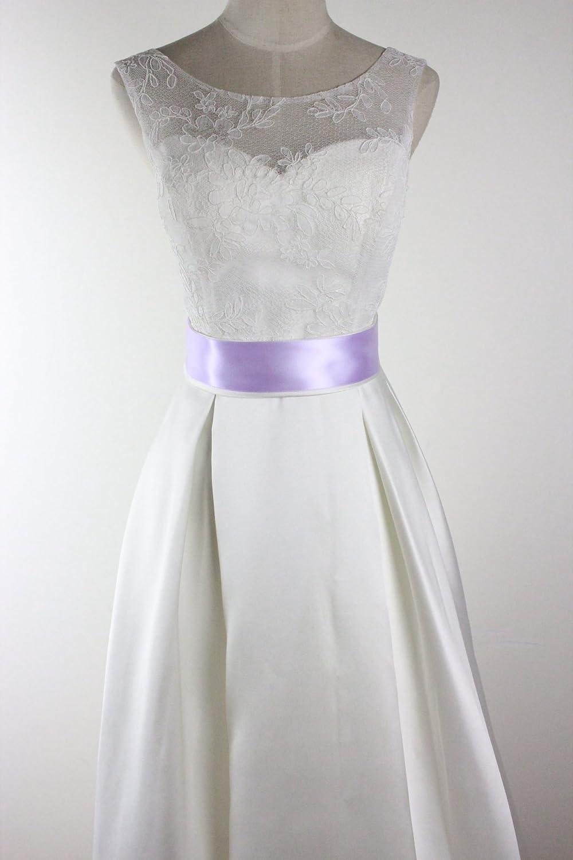 handmade simple stretch stain bridal ribbon belt//sash for forest wedding vintage wedding b1 beach wedding