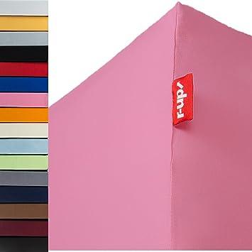 R Up Spannbettlaken 90x200 100x220 Bis 35cm Höhe Viele Farben 95