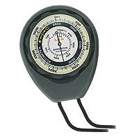 Sun Company altimètre 203-m–sans pile altimètre et Baromètre | Weather-trend Indicateur avec dragonne et robuste Coque ABS | lectures Altitude à partir de 0à 5,000metres