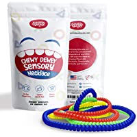 Everyday Educate Sensory Chew Necklace for Boys and Girls - Durable Chew Necklace for Kids with Autism ADHD - Biting…