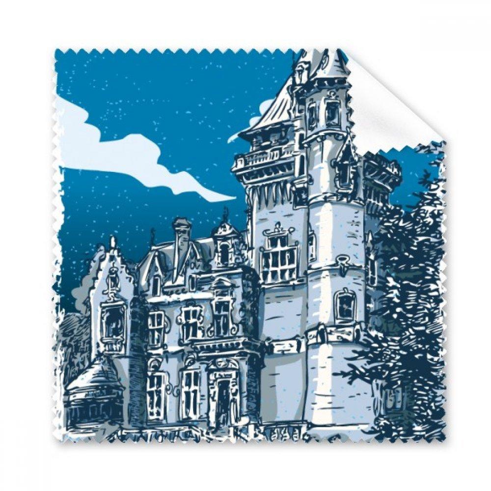 Old Castle 中世のヨーロッパの騎士 エンブレム メガネクロス クリーニングクロス ギフト 電話スクリーンクリーナー 5点   B071ZJ6JV1