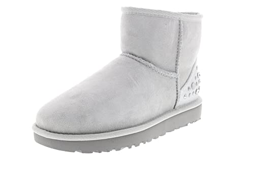 5fc73f0274e UGG Boots Mini Studded Bling - Grey Violet, Size:9.5 UK: Amazon.co ...
