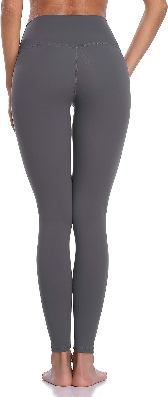 Colorfulkoala Womens Brushed Buttery Soft High Waisted Leggings Full Length Yoga Pants
