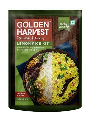 Recipe Ready Lemon Rice Meal Kit Serves 2 All Ingredients Inside