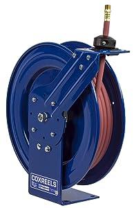 Coxreels P-LP-340 Low Pressure Retractable Air/Water Hose Reel: 3/8