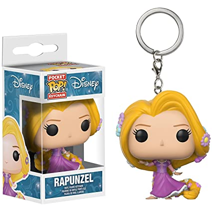 Amazon.com: Rapunzel: Fun ko Pocket Pop! Mini-Figural ...