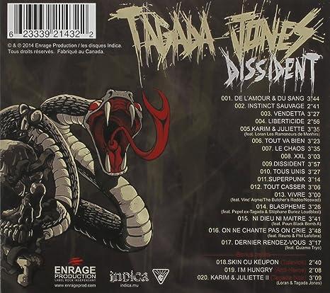 album tagada jones dissident