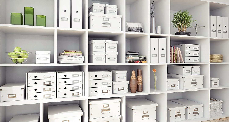 4 cassetti Leitz 60490001 Click/&Store Cassettiere Colore Bianco