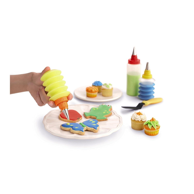 Amazon Com Kuhn Rikon Cookie And Cupcake Decorating Set Cookie