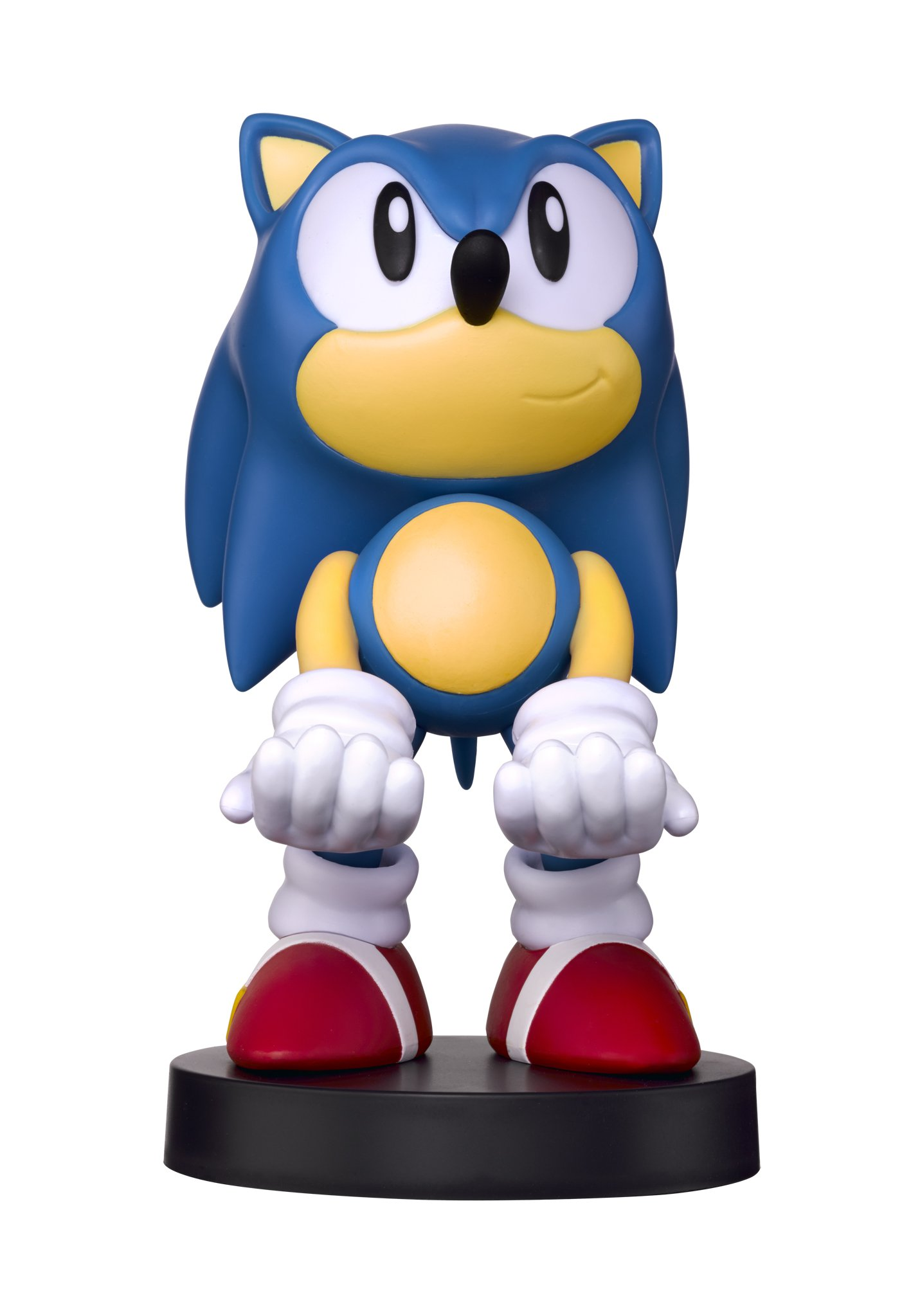 Collectible Sonic the Hedgehog Cable Guy Device Holder - works with PlayStation and Xbox controllers and all Smartphones -  Classic Sonic - Not Machine Specific by Exquisite Gaming