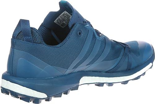 adidas Herren Terrex Agravic GTX Trekking & Wanderhalbschuhe, blau