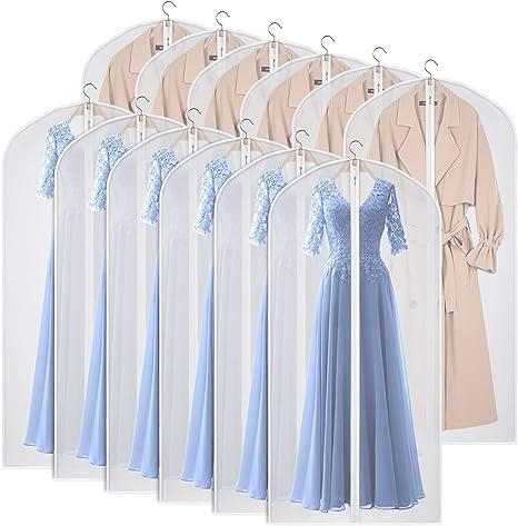 Dress Clothes Coat Garment Suit Cover Bag Dustproof Clothing Storage Protector