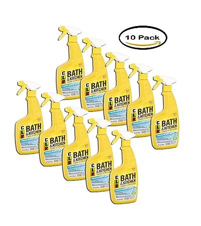 Pack Of 10 Clr Bath Kitchen Cleaner 26 Fl Oz Fresh Scent Spray