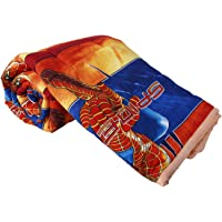 Clasiko Double Bed Comforter Cartoon Print Spiderman, Fabric- Micro Cotton, Size - 84x84 Inches, Color Fastness Guarantee, 250 GSM