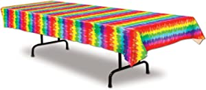 Tie-Dyed Tablecover Party Accessory (1 count) (1/Pkg)