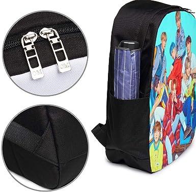 Plipli Fashion School Bag The Boyz Eric Backpack 17 with USB Interface