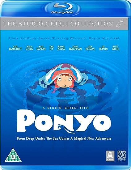 Ponyo Blu-Ray/Dvd Combi Pack Edizione: Regno Unito Reino Unido Blu ...