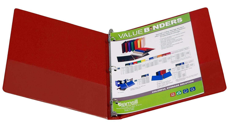 Samsill Value Binder 2,5 cm 2.54 2.54 2.54 cm grün B00290F5W2   Bekannt für seine schöne Qualität  2c3261