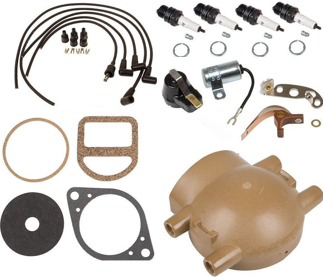 CPW (tm) Complete Tune Up Kit for Ford 9N 2N & 8N Tractors with Front Mount Distributor