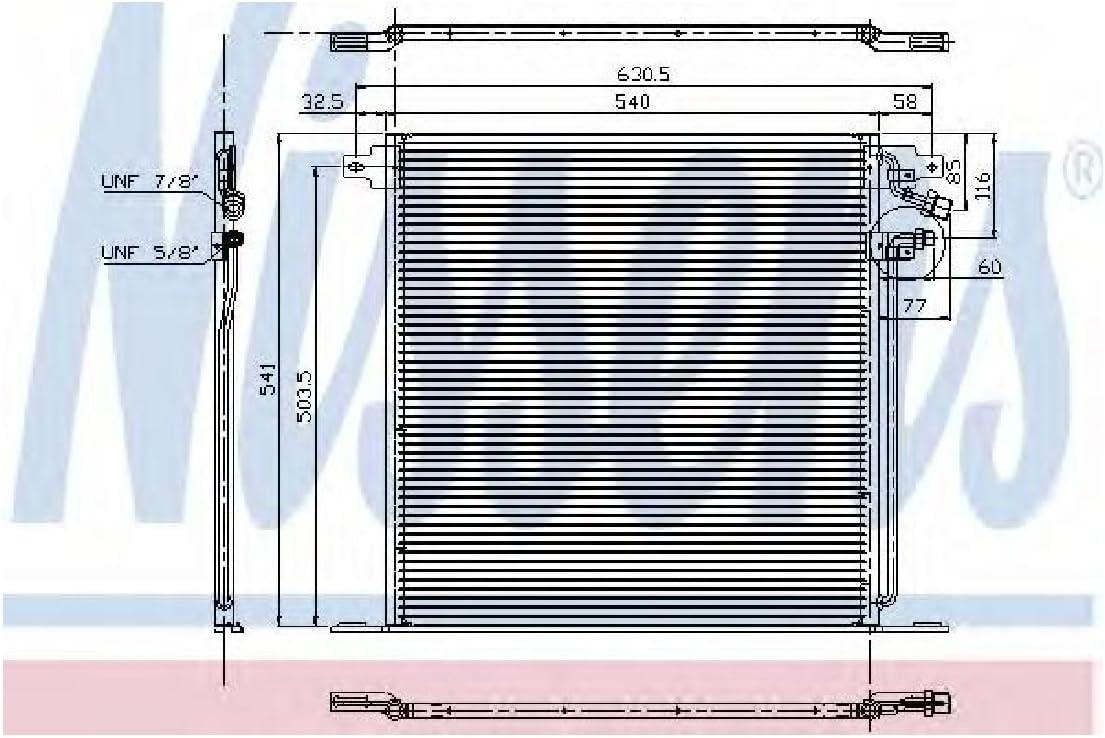 Nissens 94226 Sistemas de Aire Acondicionado