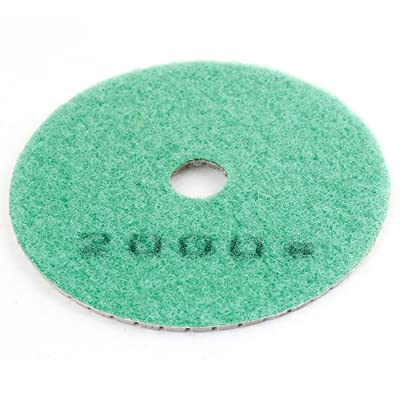 Uxcell 2000 Grit Tile Stone Diamond Polishing Pad, 15x100x4mm, Green Gray: Home Improvement