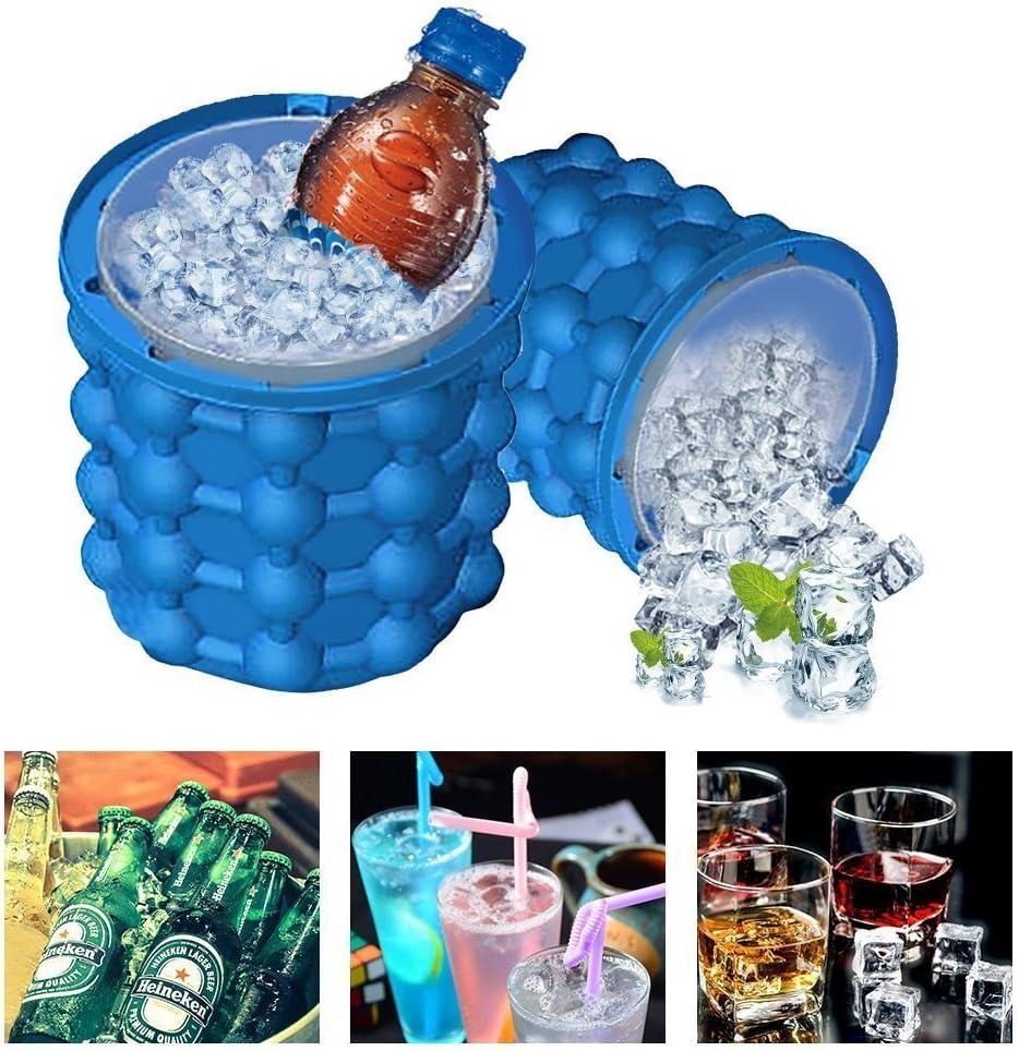 Ice Genie Cube Maker Cubitera de Hielo Cubitera Hielo Cócteles de ...