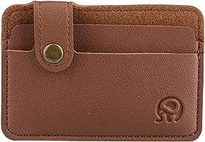 Slim Leather Wallet Credit Card Case Sleeve Card Holder Wallet Money Cash Holder