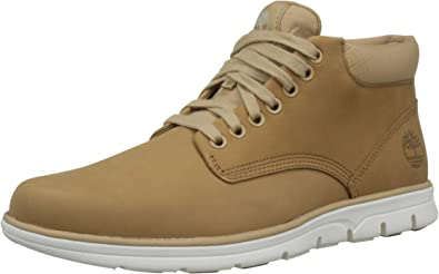 de repuesto Contratación Arrepentimiento  Amazon.com | Timberland Hombre Bradstreet Chukka Leather Botas, Marrón  (Medium Beige Nubuck), 11 UK 45.5 EU | Boots