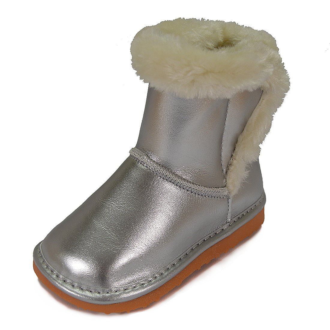 HLT Toddler//Little Kid Girl Faux Fur Squeaky Boot