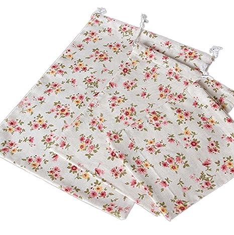 Bolsas de regalo Westeng de lino y algodón, para guardar ...