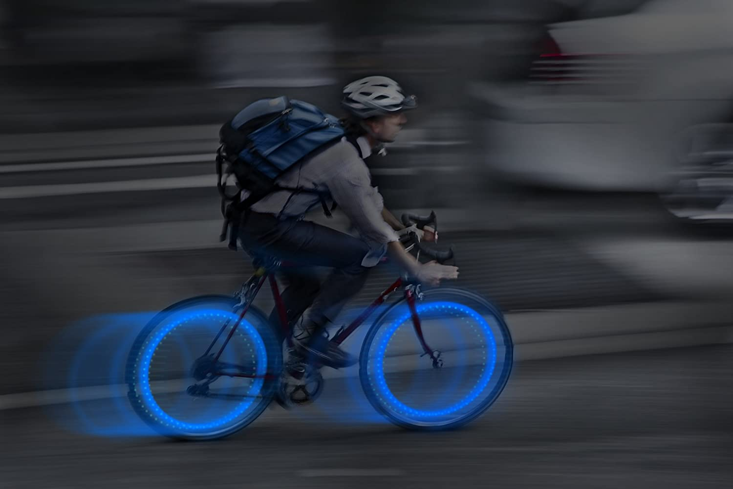 Nite Ize See Em Mini LED Bicycle Spoke Lights Wheel Lights for Nighttime Visibility Safety 4 Pack Assorted Colors
