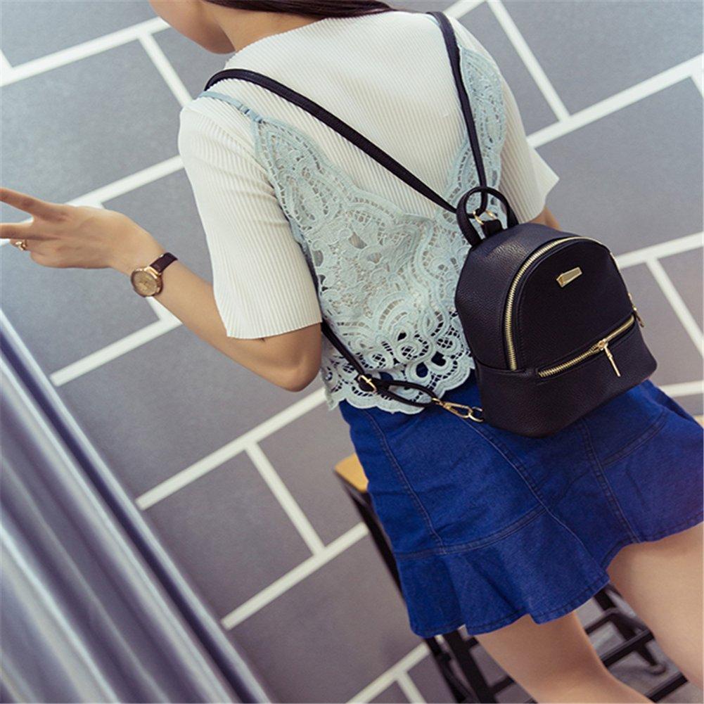 Amazon.com   Bingirl New Style Women s Leather Backpack Children Backpacks  Mini Backpack Women Back Pack Backpacks For Teenage Girls   Kids  Backpacks 99d9a959fe