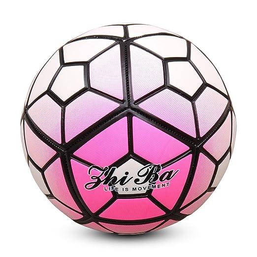 ZHIBA Balón de fútbol para actividades al aire libre e interiores ...