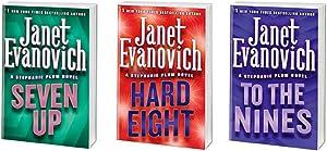 Janet Evanovich ~ A Stephanie Plum Novel Series ~ 3 Book Bundle # 7-9 Hard Cover