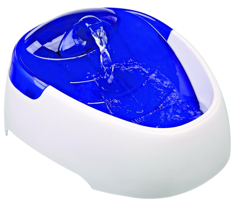 Trixie Fonte Automatico Duo Stream, 1L Bianco/Azzurro 4047974244623