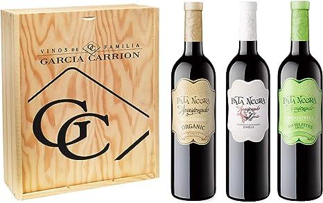 Pata Negra - Lote de 3 Botellas de Vino, Apasionado, Apasionado ...