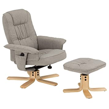 IDIMEX Charly - Sillón de Relax con Taburete, sillón ...