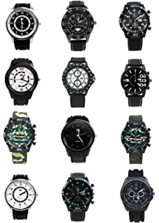 Umo Lorenzo Mens 12pc Fashion Sport Watches Rubber Band