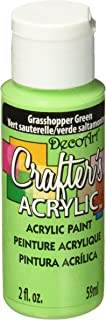 product image for DecoArt Crafter's Acrylic Paint, 2-Ounce, Grasshopper Green