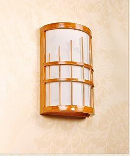 Semplice moderna camera da letto a parete Testa della base della lampada Villa Lampada da comodino