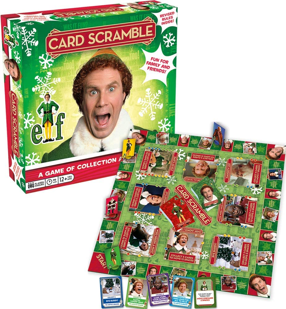 Aquarius Elf Scramble Board Game, Multicolor