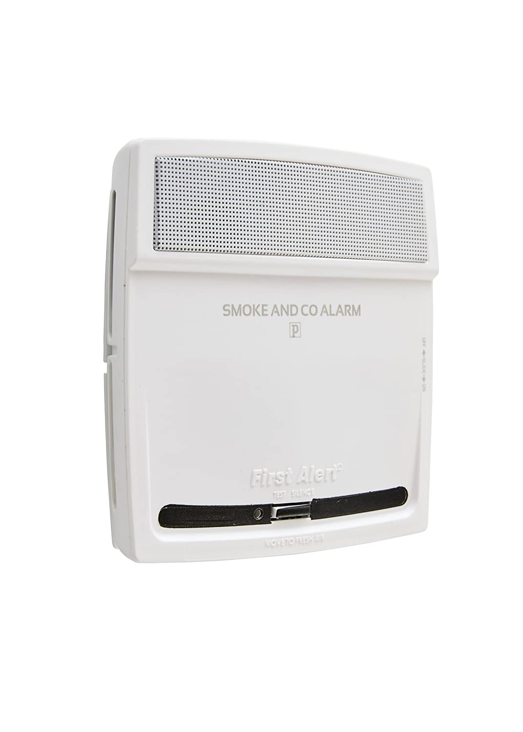 First Alert PC910V 10 Year 2 in 1 Photoelectric Carbon Monoxide Alarm and Smoke Detector with Voice Alert White