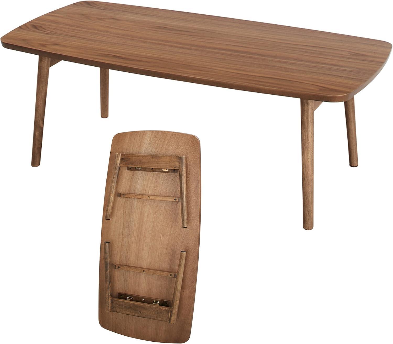 Amazon Com Azumaya Folding Coffee Center Table Tac 229 Furniture Decor