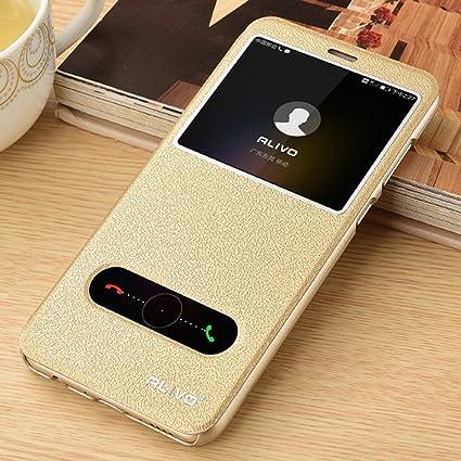 Amazon.com: Para HUAWEI Honor 7 x teléfono, Flip Cover funda ...