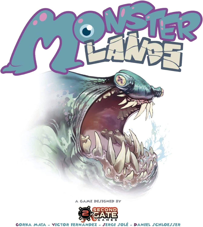 Second Gate Games Monster Lands - Juego de Mesa en Castellano ...