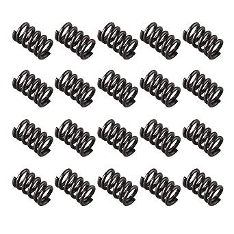 20 muelles en espiral de 5 mm de diámetro exterior y 8 mm de ...
