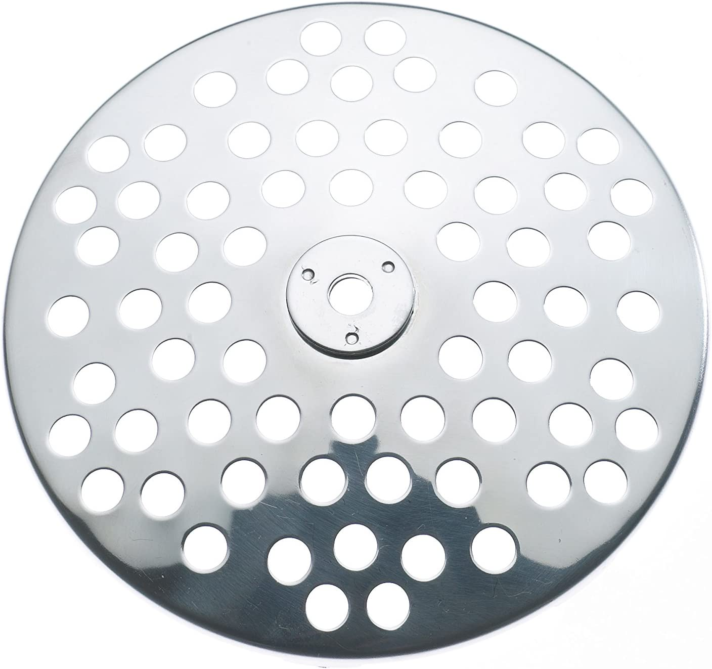 8mm Gefu Strainer Disc for Food Mill Flotte Lotte, Replacement, St. Steel, 8mm Hole, 24215